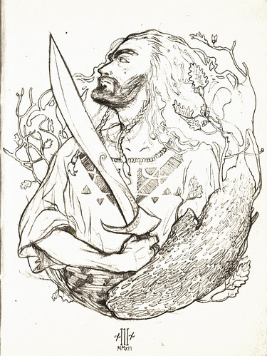 Thorin Oakenshield fan art