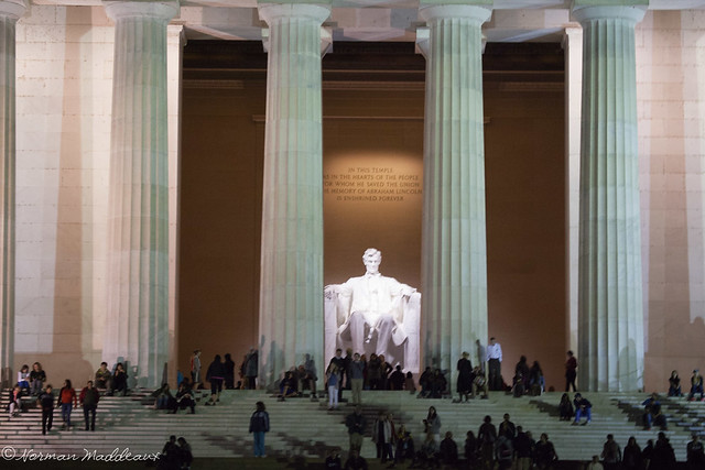 Lincoln Memorial - Evening-5034