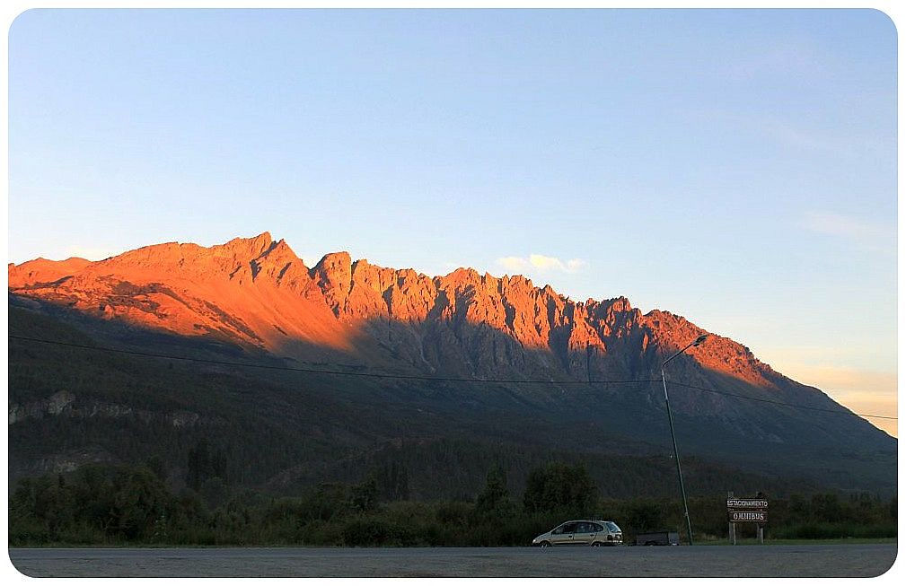 15 argentina andes sunset