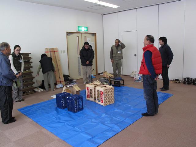今日の講師,坂井先生と暮町先生のあいさつから始まった.