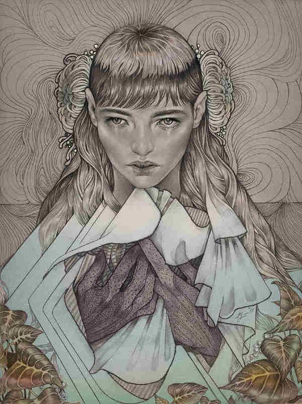 ilustración vintage