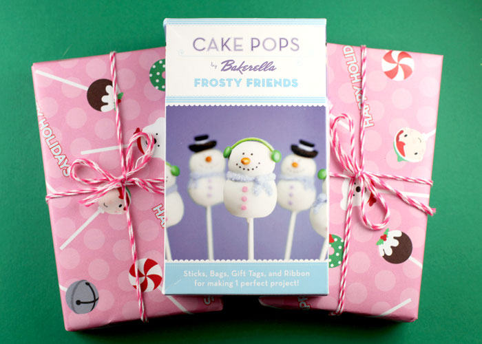 Cake Pops Frosty Friends