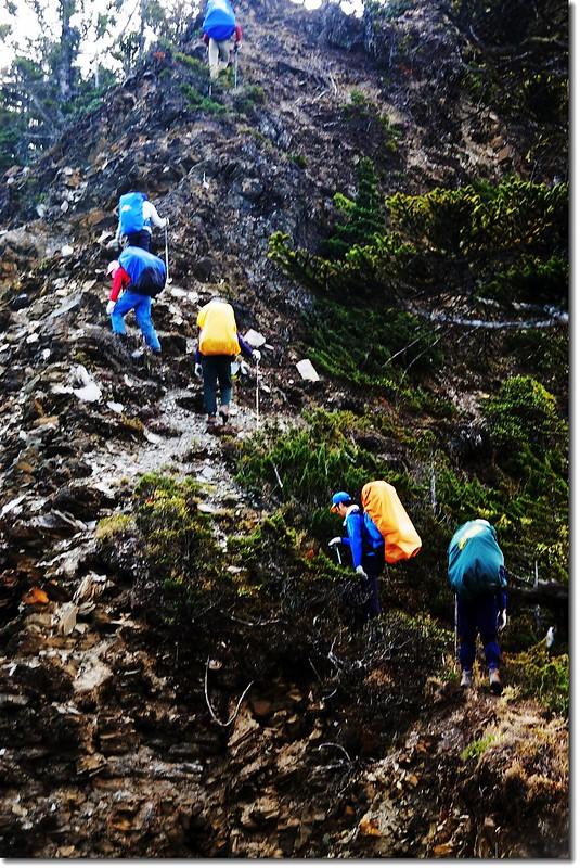 攀登馬利亞文路山