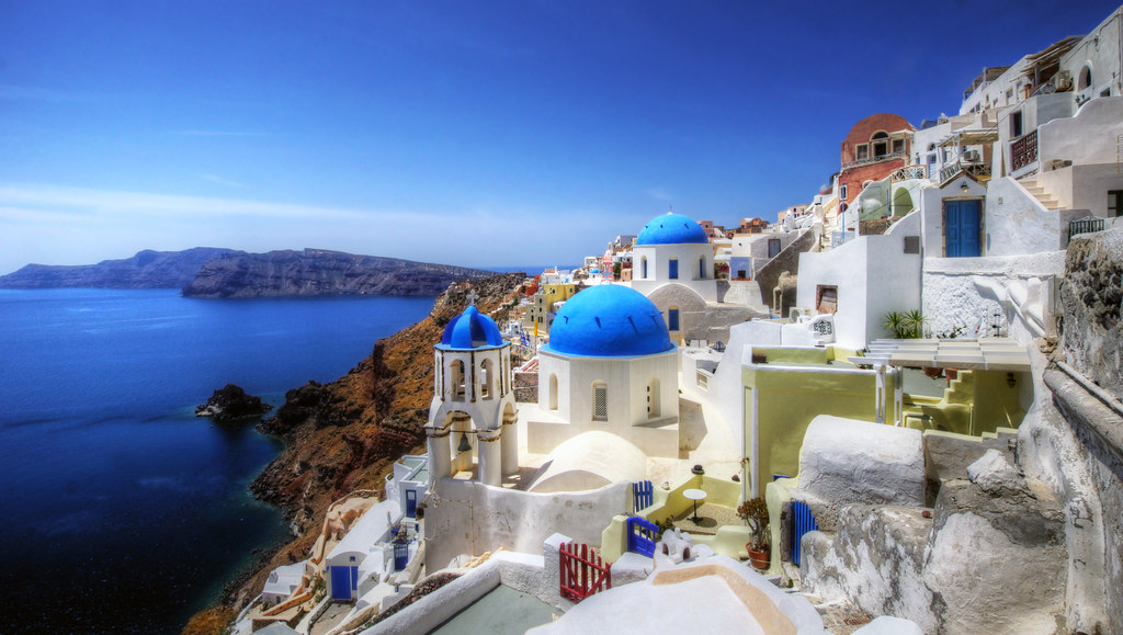 Santorini Greece, image by mariusz kluzniak, Flick CC