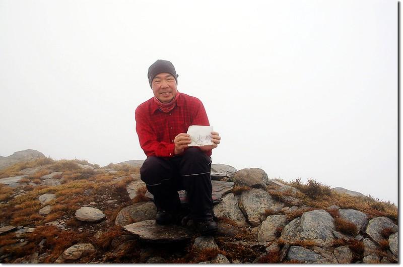 東巒大山山頂(Elev. 3468 m) 1