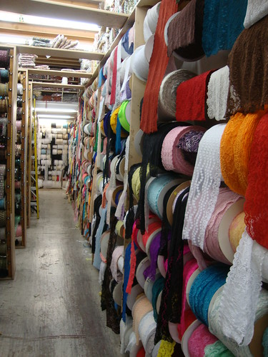 LA fabric shopping 11/22/13
