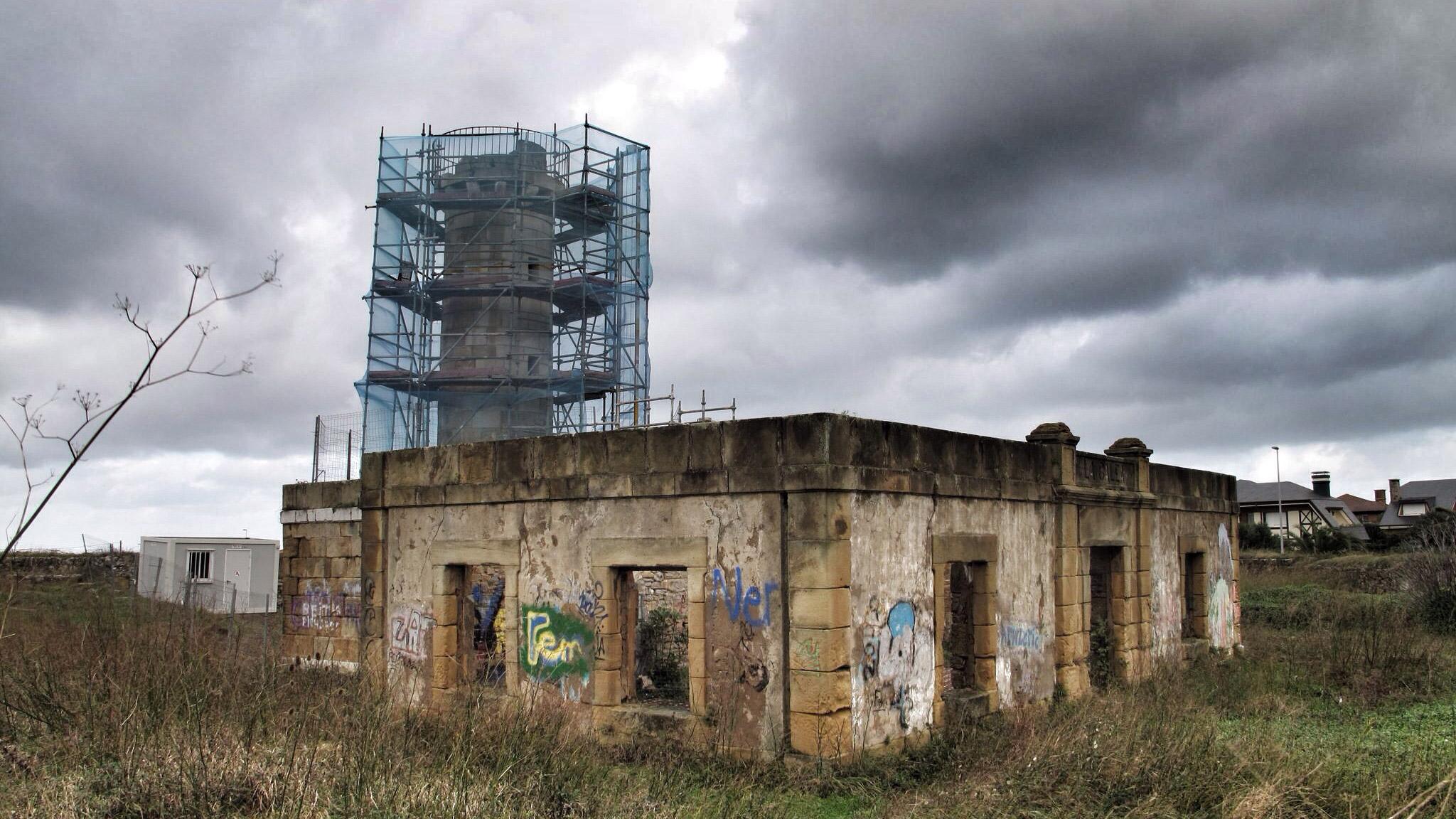 fuerte de la galea_siglo XVIII_restauración_aranzadi_upv ehu