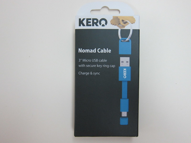 Kero - Micro USB Nomad Cable - Box Front