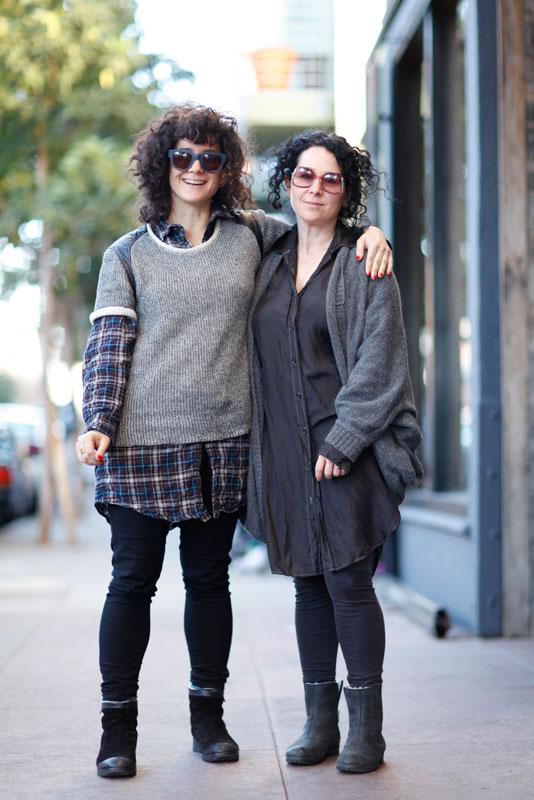 sisters_4B Quick Shots, San Francisco, street fashion, street style, Valencia Street, women