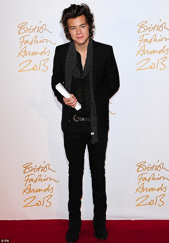 harry styles of one direction bfa