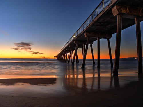 Photo:Hermosa Beach Pier, CA #flickr12days By:memories_by_mike