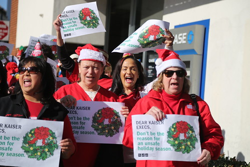 Nurses protest unsafe staffing at Kaiser