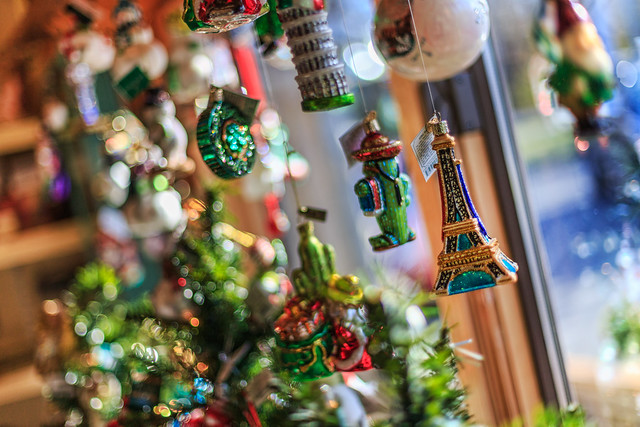 Ornaments on Display at Lemon Tree Village