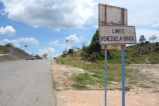 fronteira Venezuela Brasil