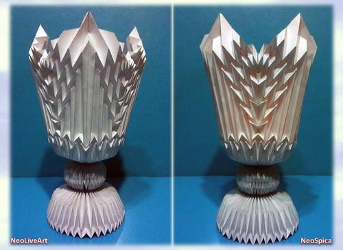 Design Fold Origami Kirigami Papercraft Corrugation Folding