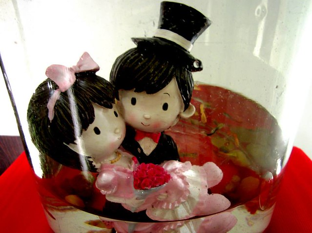 Cute wedding dolls