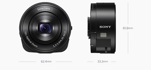 Sony QX-10 dimensions