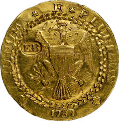 Brasher doubloon obverse