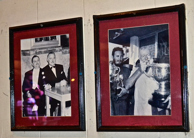 Key West, Florida- Sloppy Joe's - ernest hemingway and fidel castro