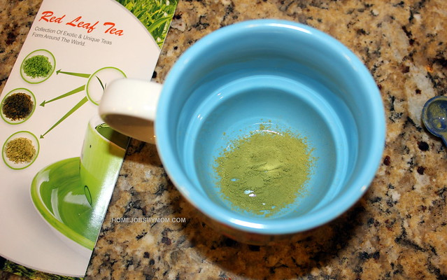 caramel matcha green tea latte