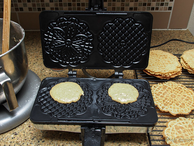 Pizzelle Making