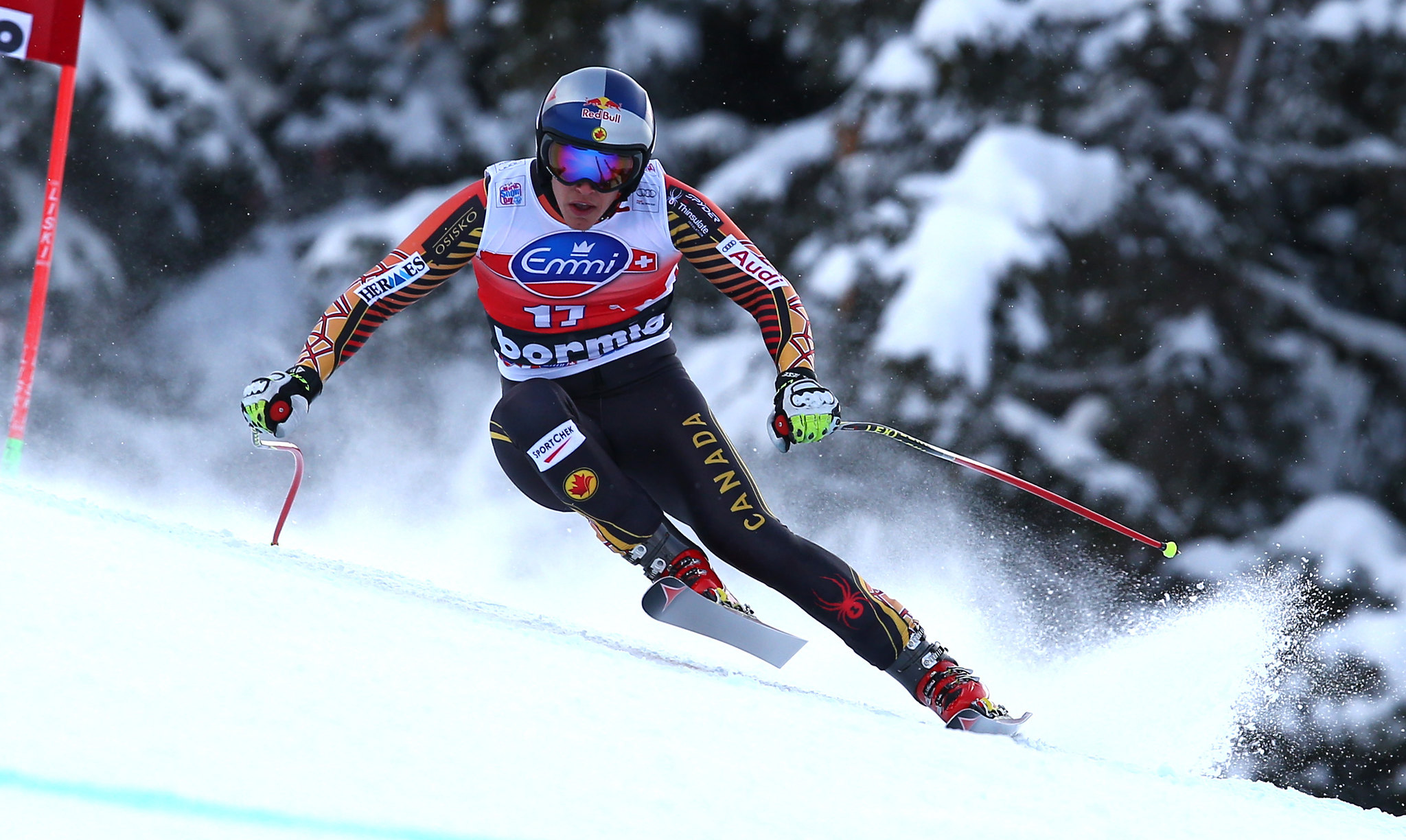 Guay speeds his way into Canadian history with a 3rd place in Bormio, ITA to earn the most World Cup Podiums by a Canadian