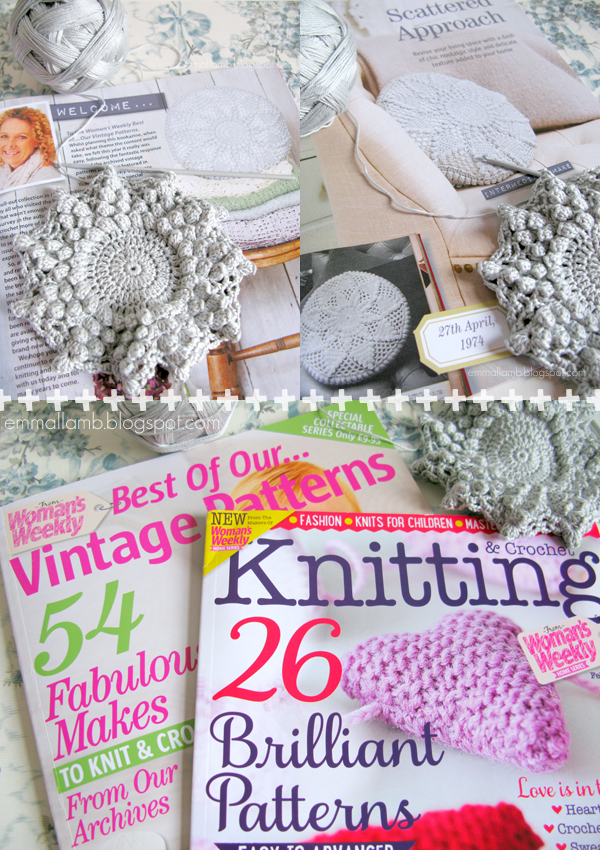 Woman's Weekly, Best of our... Vintage Patterns and Knitting & Crochet / © emma lamb