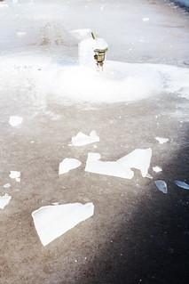 Frozen Fountain, Wilson Park