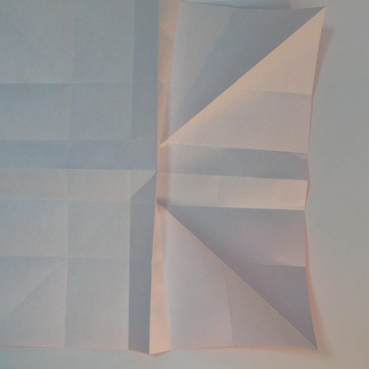 วิธีพับกระดาษพับดอกกุหลาบ 014