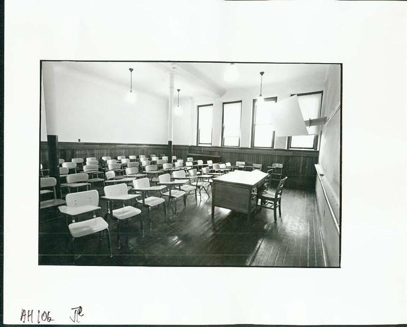 Alumni Hall Classroom circa 1970s