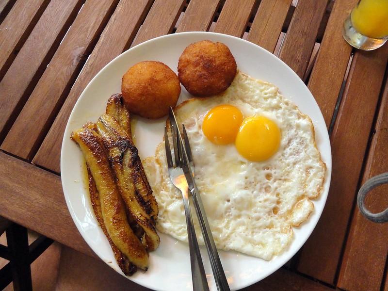 Breakfast first morning in Saigon