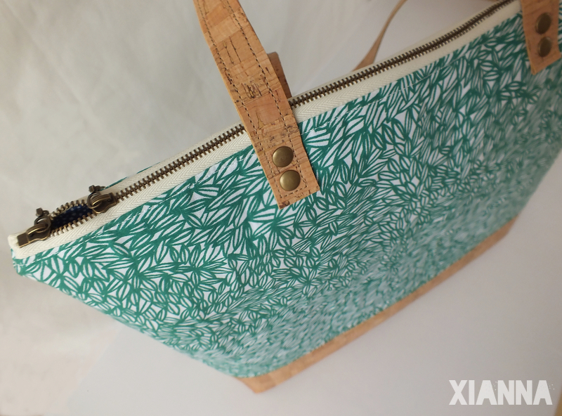 Xianna enchanted forest tote