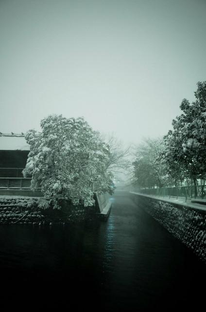 snowfall canal aside