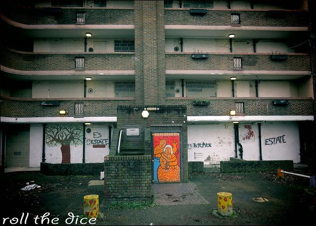 Samuel House`Haggerston Estate`Derelict