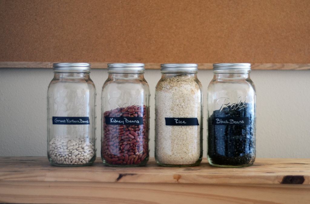 Ball Jar Storage