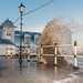 High Tide on the Esplanade by Jerry Howells