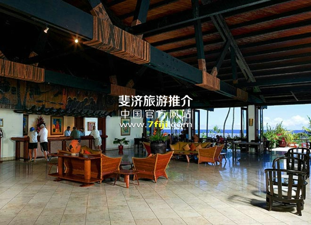 斐济沃里克度假村(Warwick Fiji Resort & Spa)接待大厅
