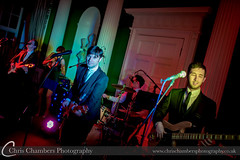 The Zoots performing at Nina and Matts wedding at Hazlewood Castle http://www.thezoots.com