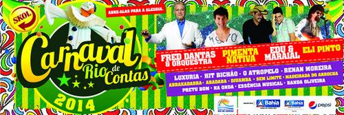carnaval 2014 em rio de contas