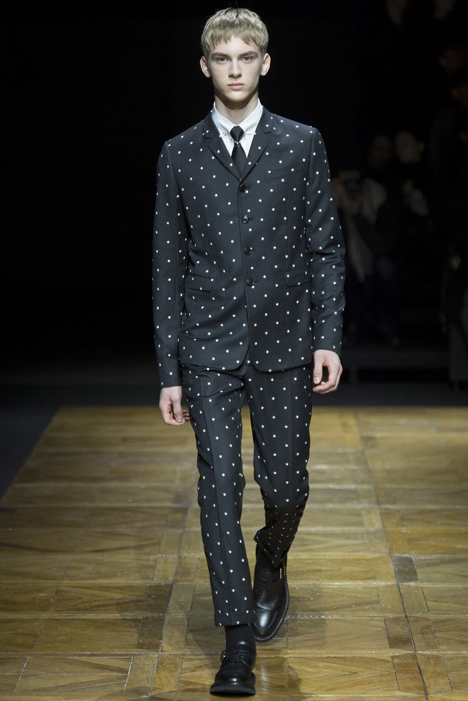 FW14 Paris Dior Homme006_Dominik Sadoch(VOGUE)