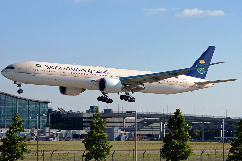 HZ-AK17 - B77W - Saudi Arabian Airlines
