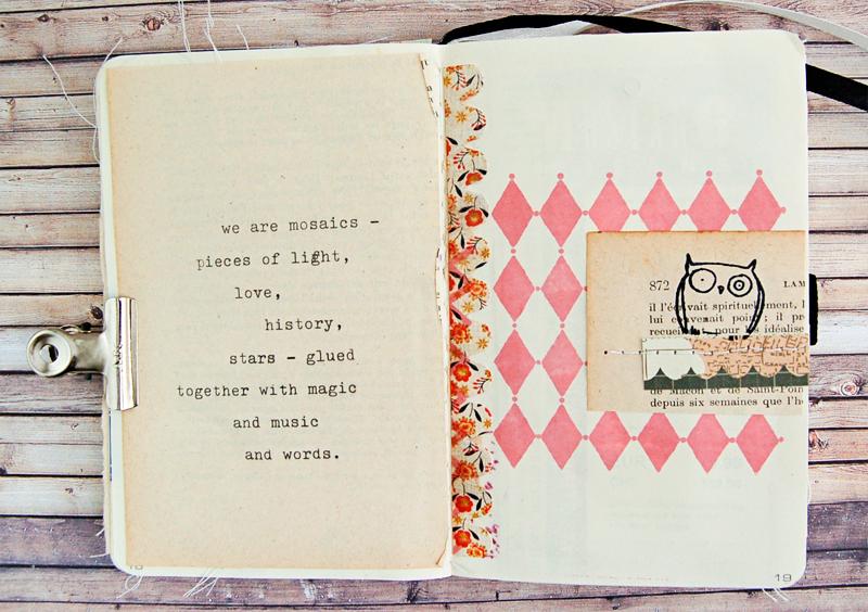 Quotes Journal Glamorous Quotes Art Journal  Baers Garten Designs