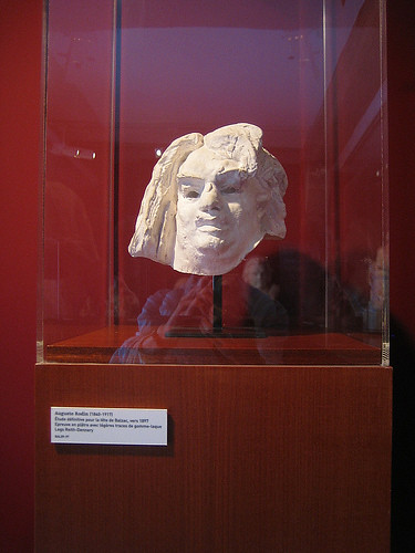 Sculpture of Honoré Balzac, Le maison de Balzac, Paris, 2008