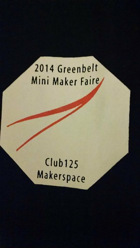 The Official 2014 Greenbelt Mini-Maker Faire T-Shirt