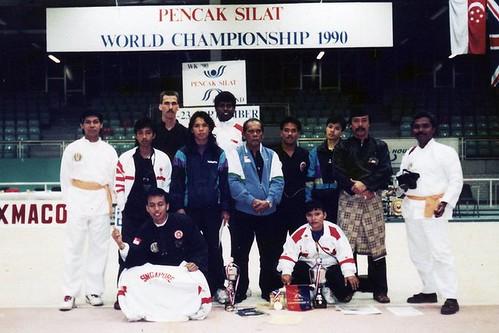 Silat Wold Championship 1990.