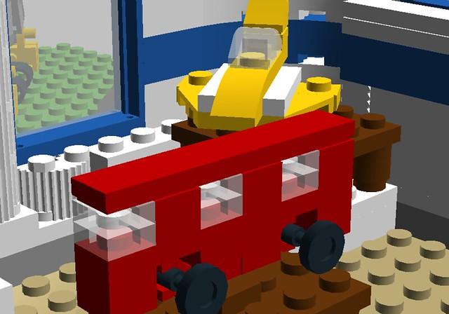 how to make a lego lounge