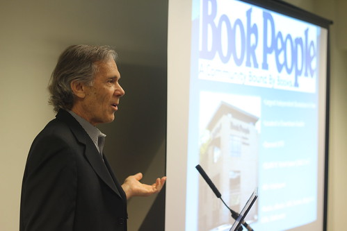 Steve Bercu (ABA President - Book People, Texas)