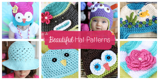Beautiful Hat Patterns by Daisy Cottage Designs