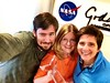 Me and the rest of NASA Goddard's Social Media Team with our Shorty Award!