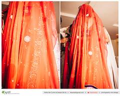 orange, clothing, red, peach, formal wear, fashion design, sari, costume,